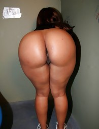 Phat and ebony african tight asses