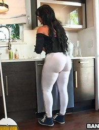My maid got a huge ol' ass!