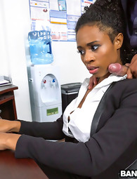 Ivy Juvenile learns how to receive ahead in the office