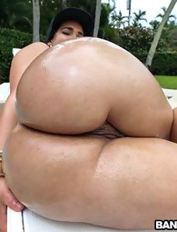 Giant ass Latina acquires some anal