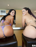 Super fine big butt Ava Addams and Mega fat butt Miss Raquel