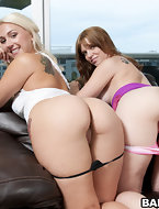 Summer & Lori Brook's are both scorching hot, 2 huge asses, and 2 perfect perky tits, what greater quantity can you..
