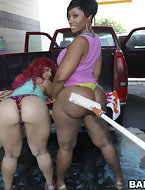 No thing more excellent to satisfy the BIGGEST ASS CRAVING than Pinky and Cherokee. Those two glamorous booties go..