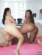 There was a earthquake in Miami this week with Candy & Diamond Mason's giant booties shaking up the place. These two..