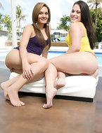 Alex Casio and Nikki Skye are completely out of this world with there huge rumps and rock solid bodies