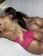 In today's feature is big ass Cocoa & Ms. Desire. Those two ladies have lots of corpulent booty and love to make dick..