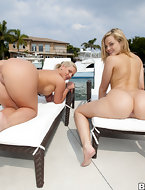 We brought in Alexis Texas and Phoenix Marie for some major ass pounding. Both of these amazing porn stars catch solid..