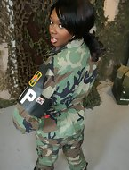 Baby Cakes has a massive black booty with some serious kick butt authority! Shes a guard at Guantanamo Bay who will..